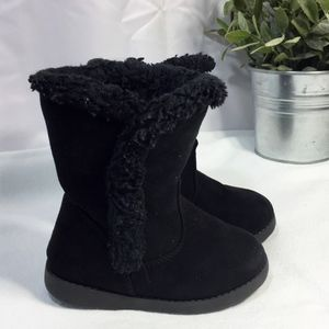 Cat & Jack Fur Lined Toddler Girls Boots